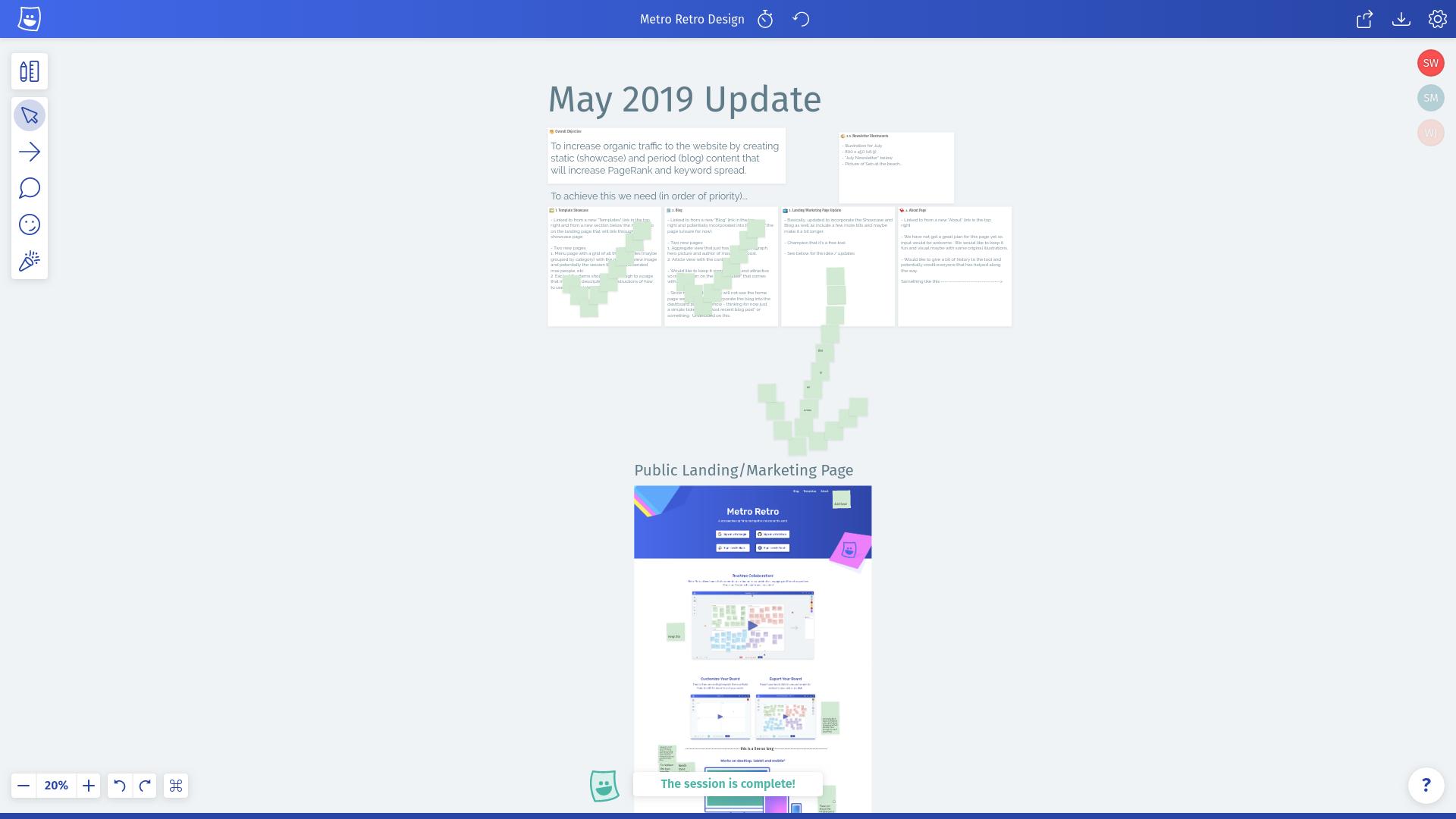 May 2019 design brief.